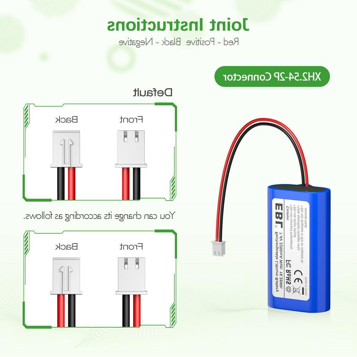 EBL Li-ion Rechargeable Batteries Replacement Toys
