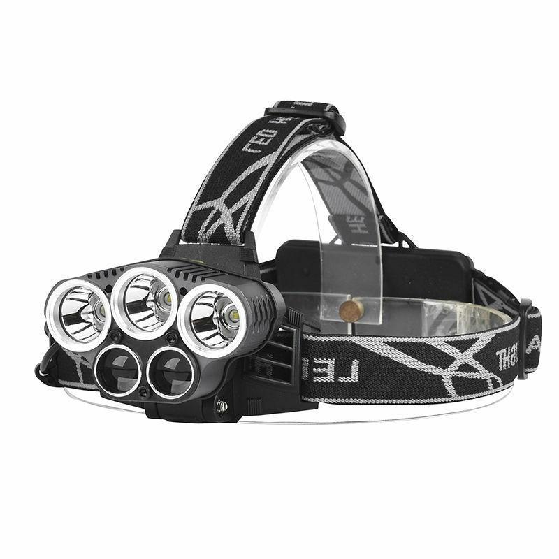 160000LM 5X Headlamp 18650 Flashlight Head Torch