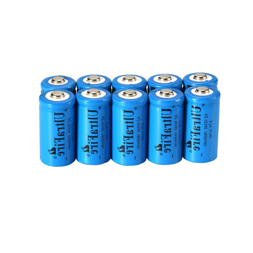 UltraFire 16340 Battery CR123A Rechargeable