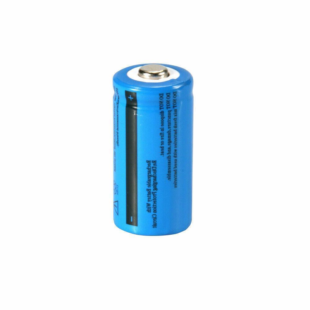 USA 3.7V Li-Ion 16340 Battery