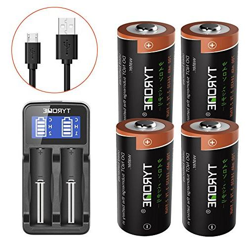 16340 rechargeable