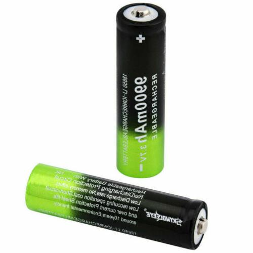 18650 Battery Rechargeable For LED Flashlight