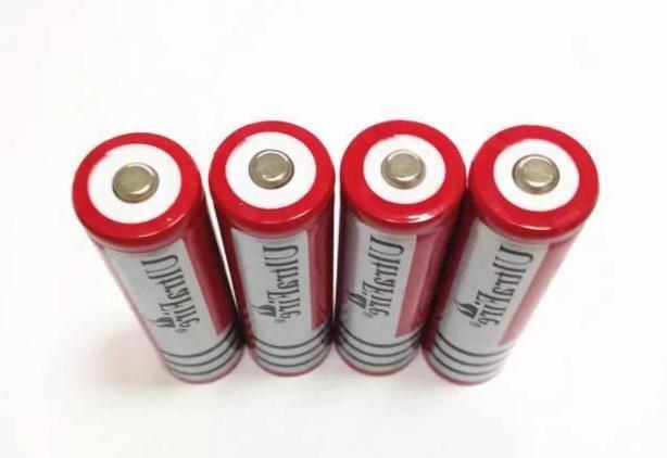 18650 3.7V Li-ion Battery For Flashlight Headlamp Lot