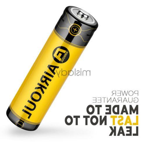2X 6800mAh Li-ion Battery 3.7V Flashlight Torch