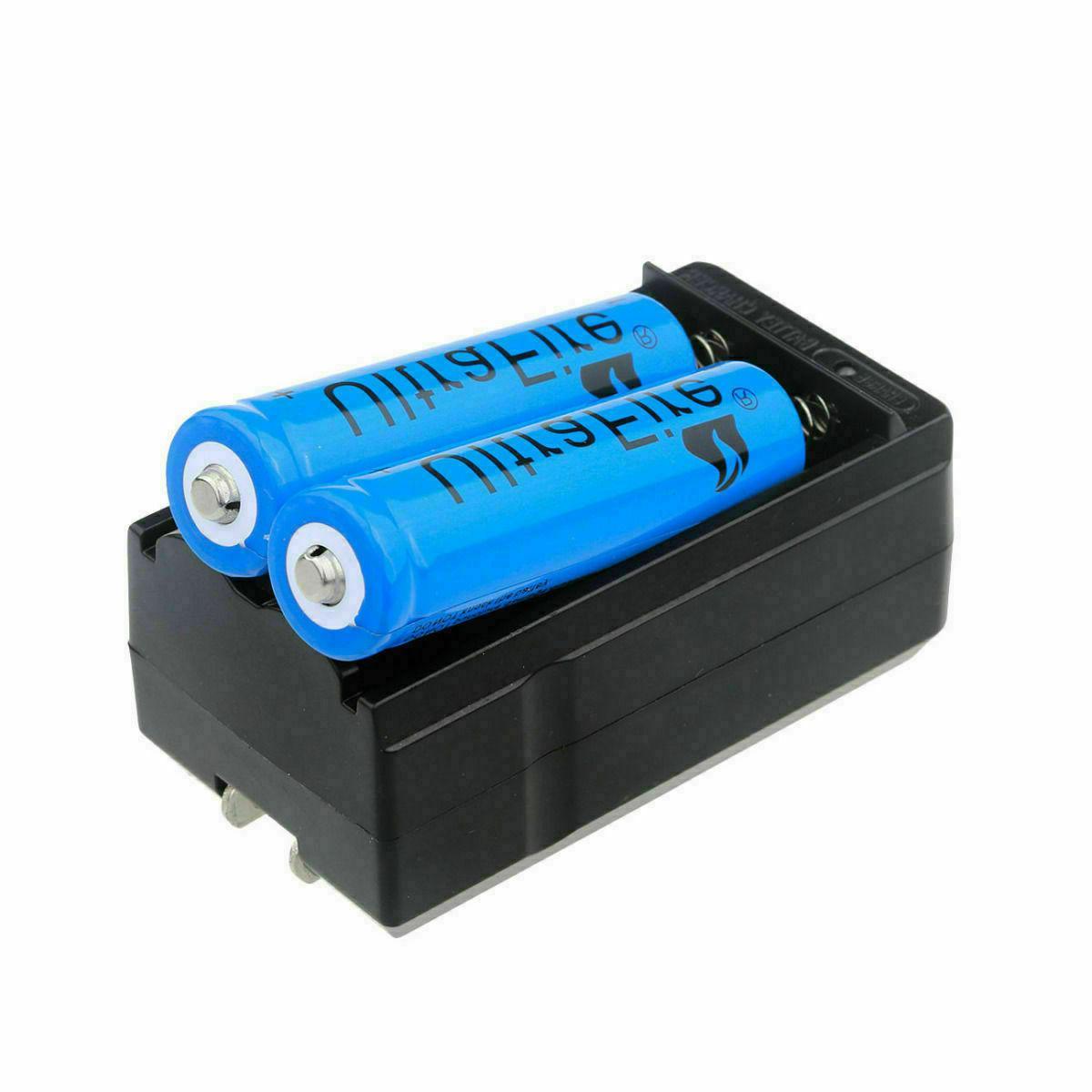 18650 Battery 3.7V Rechargeable LED Flashlight Head