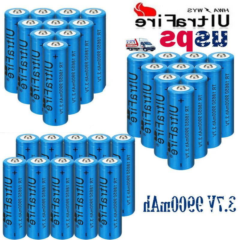 18650 9900mAh Li-ion Flashlight