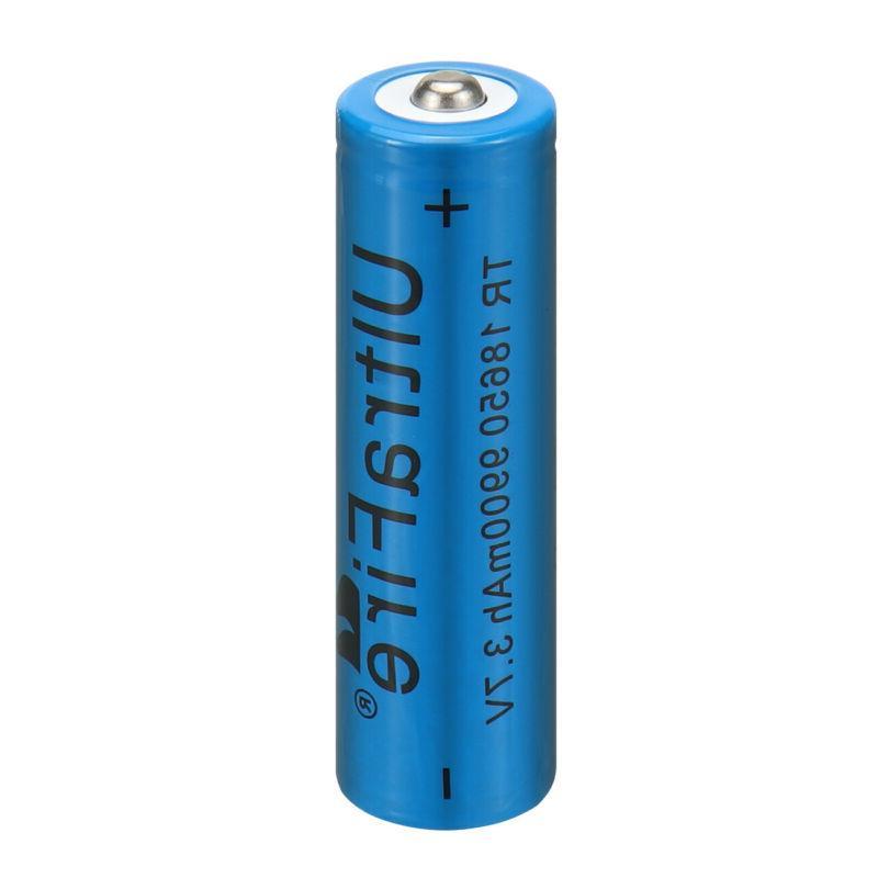 18650 9900mAh Battery Li-ion Flashlight LED