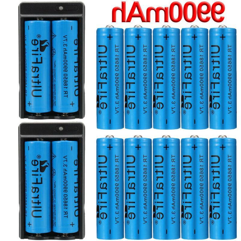 18650 Li-ion Batteries for Flashlight LED