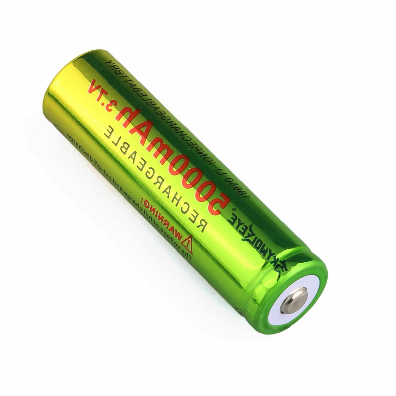 3.7V Li-ion Rechargeable Batteries