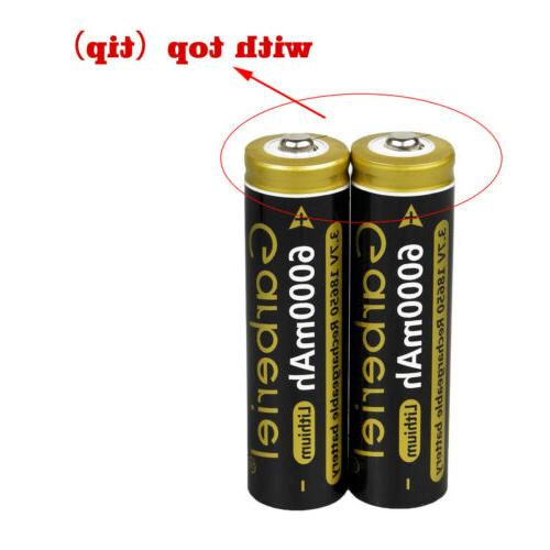 Garberiel 18650 3.7V Li-ion LED Flashlight