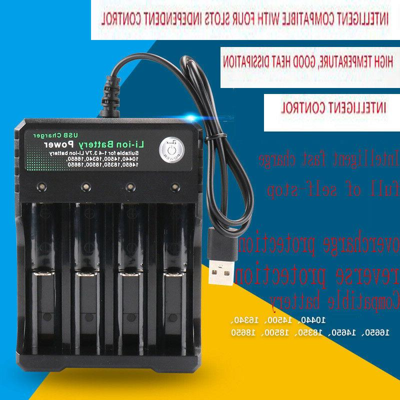 USA Rechargeable Battery Batteries Intelligent Charger