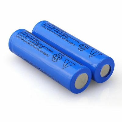 2PCS 5000mAH Rechargeable Li-ion +Smart