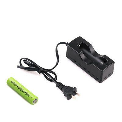 18650 rechargeable lithium battery and single slot