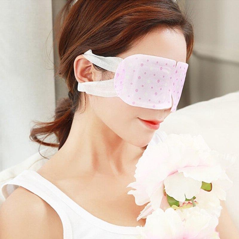 1Pc Steam Warm Mask Patch Wormwood Hot Soothing SPA New