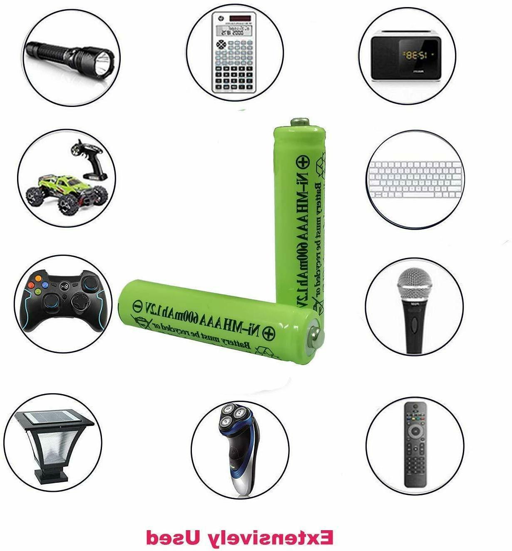 2-16 Pcs AAA Batteries Ni-MH Triple 1.2v Battery