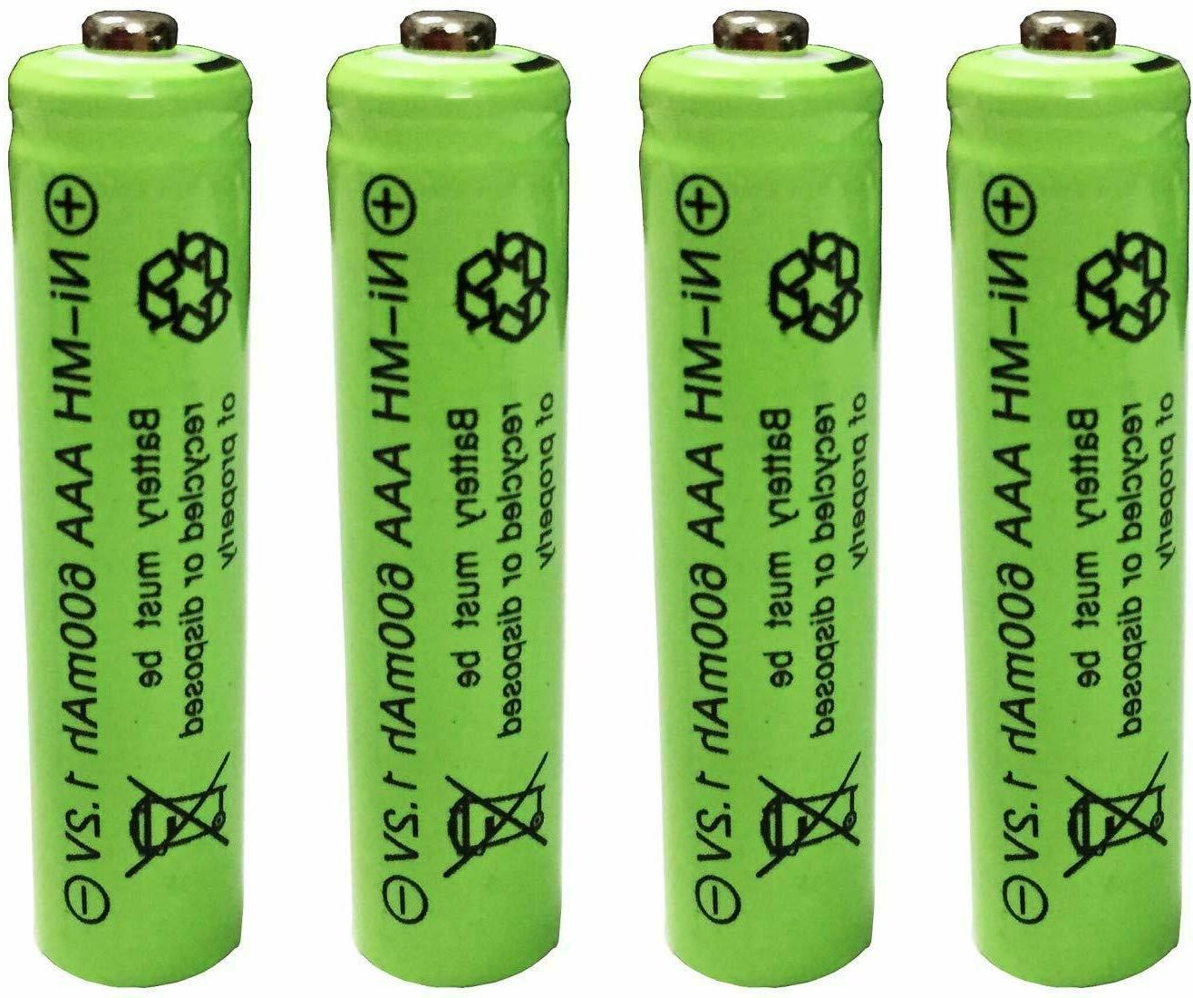 2-16 Pcs AAA Batteries Ni-MH 1.2v Battery