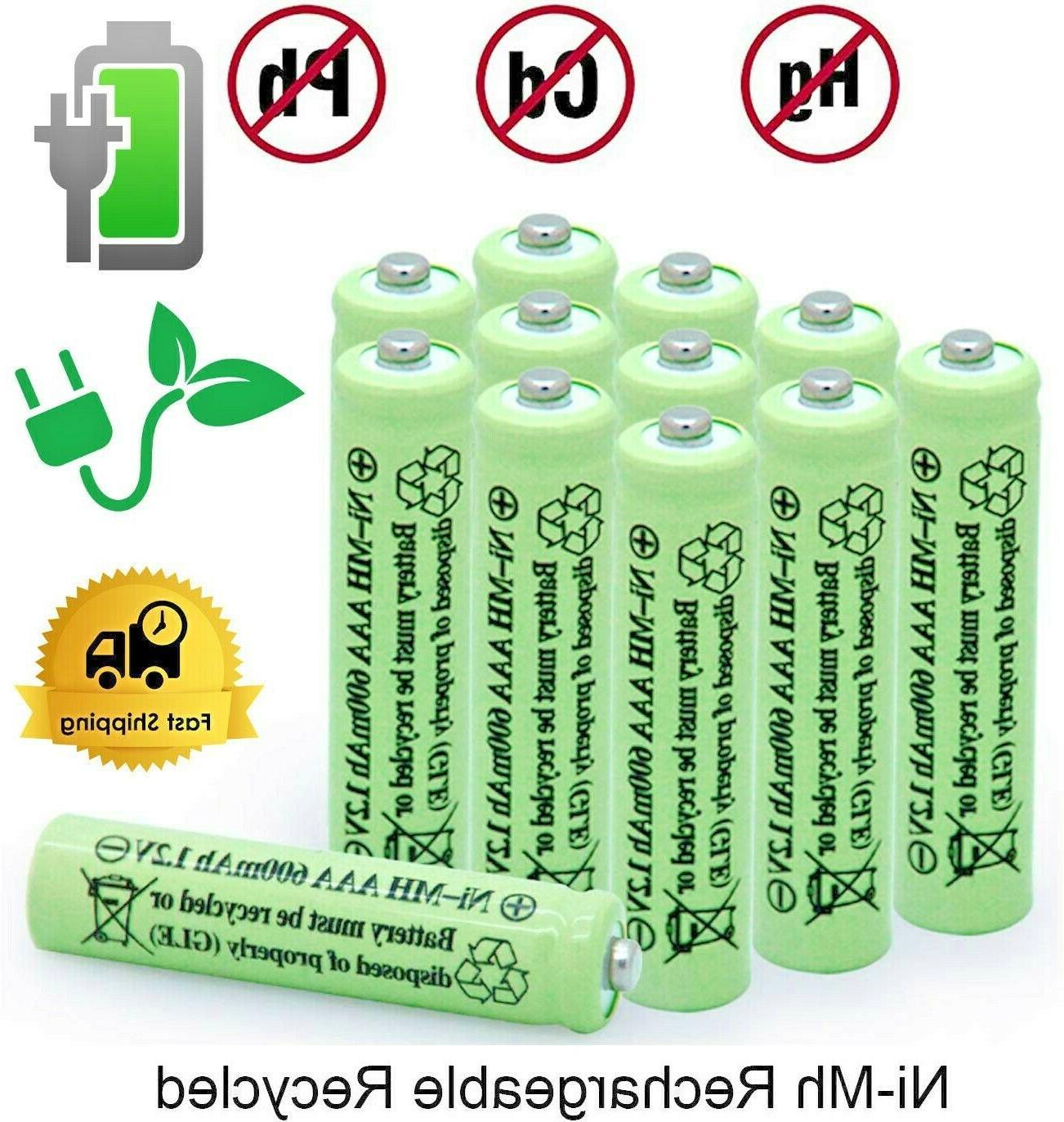 2 16 pcs rechargeable aaa batteries ni