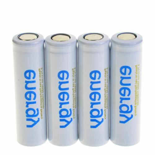 2-20 battery 3.7V Li-ion Top Flat Head