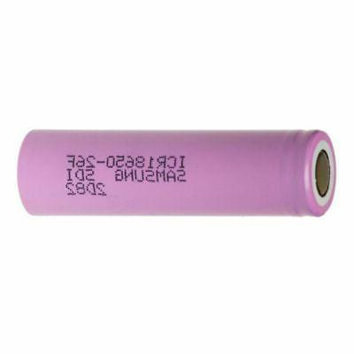 2/4pcs Samsung Rechargeable18650 15A Drain Vape1