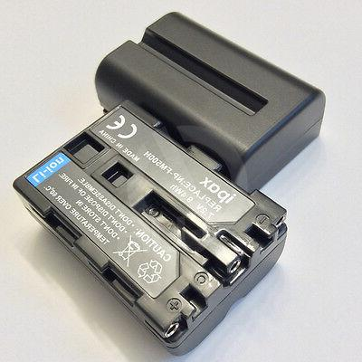2 Battery Pack for Sony NP-FM500H