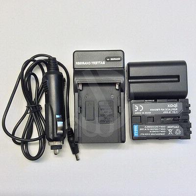 2 7.2V Battery for NP-FM500H NPFM500H+Charger
