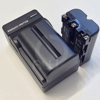 2 Battery Pack NP-FM500H NPFM500H+Charger