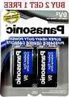 2 Wholesale 9V Panasonic 9 Volts Batteries Battery Super Hea