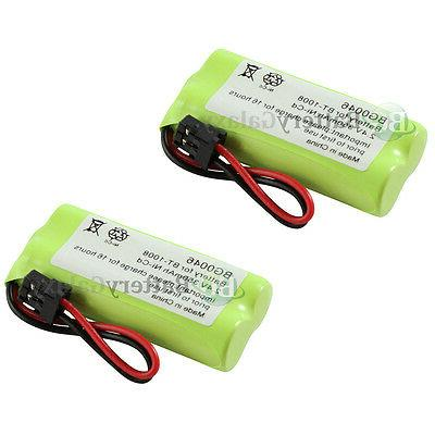 2 Cordless Home Phone Rechargeable Battery 350mAh NiCd for U