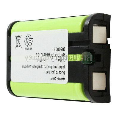 2 NEW Rechargeable Battery for KX-TGA300B HOT!