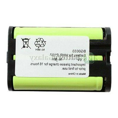 2 NEW Rechargeable KX-TGA300B KX-TGA600B HOT!