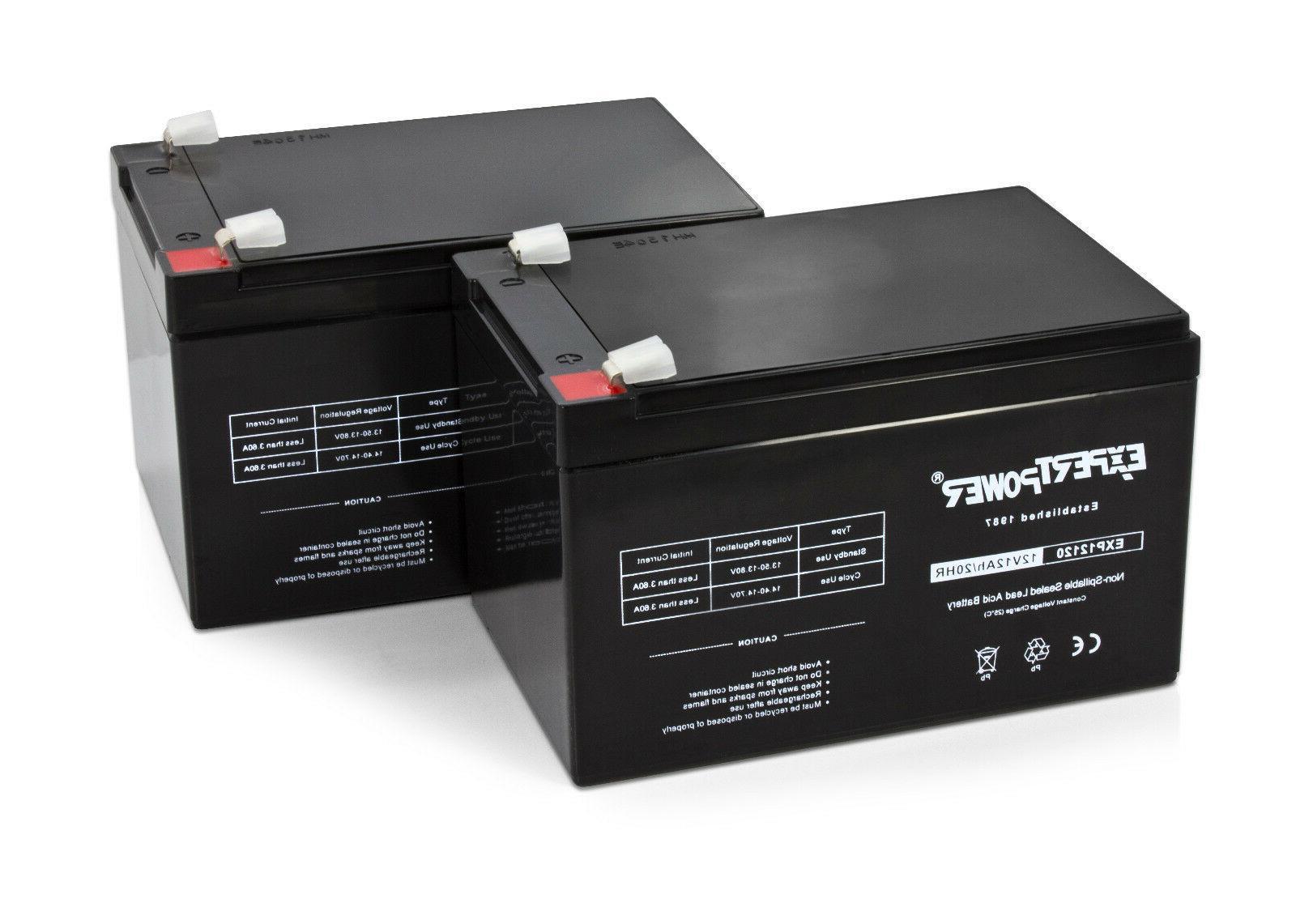 2 ExpertPower Volt Ah Battery 2