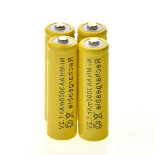 20 Rechargeable NiMH 3000mAh 1.2v Garden Solar Ni-MH CA