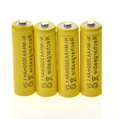 20 AA Battery NiMH 3000mAh Solar Ni-MH CA