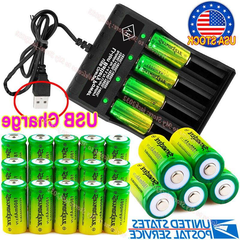 20* 16340 Batteries 3.7V Arlo Security