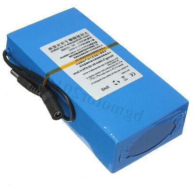 20000mAh Super Battery 12V AC Charger & Plug