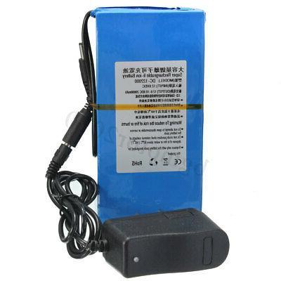 20000mAh Battery DC AC Charger & Plug