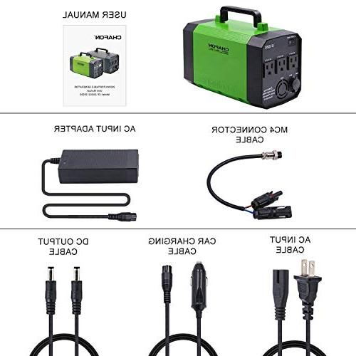 Generator Station Rechargeable CPAP Battery Inverter with 12V, USB Camping
