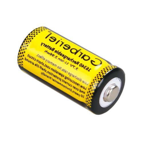 20PCS 16340 3.7V Li-Ion