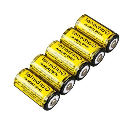20PCS 3.7V Rechargeable Batteries