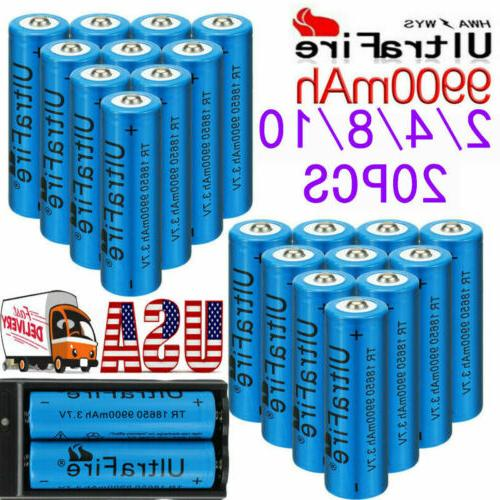 UltraFire 18650 Battery Li-ion Rechargeable & Charger