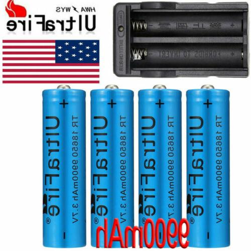 UltraFire 18650 Battery Li-ion Rechargeable Batteries Charger