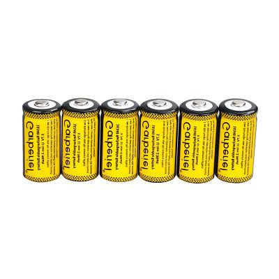 20x CR123A Li-Ion Rechargeable Batteries