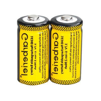 20x CR123A Rechargeable Batteries for Netgear Security