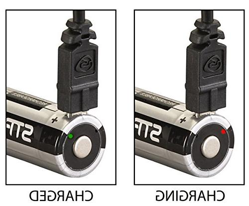 Streamlight 22102 USB 18650 Battery, 2-Pack
