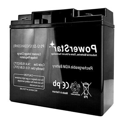 12v 22ah f2 terminal battery for schwinn