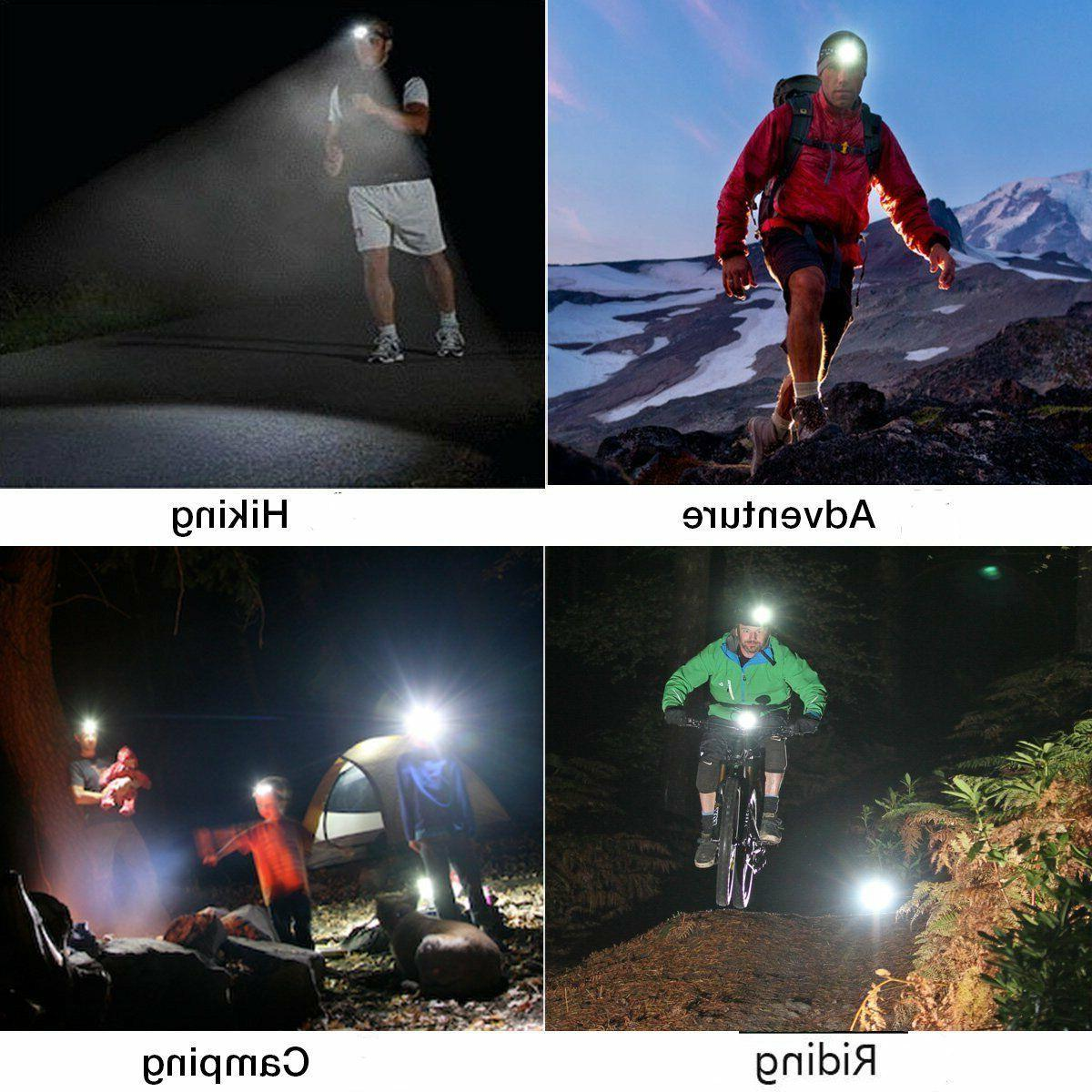 Headlamp 200000LM T6 Rechargeable 9900mah