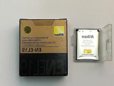 Nikon 25837 EN-EL19 Rechargeable Li-Ion Battery