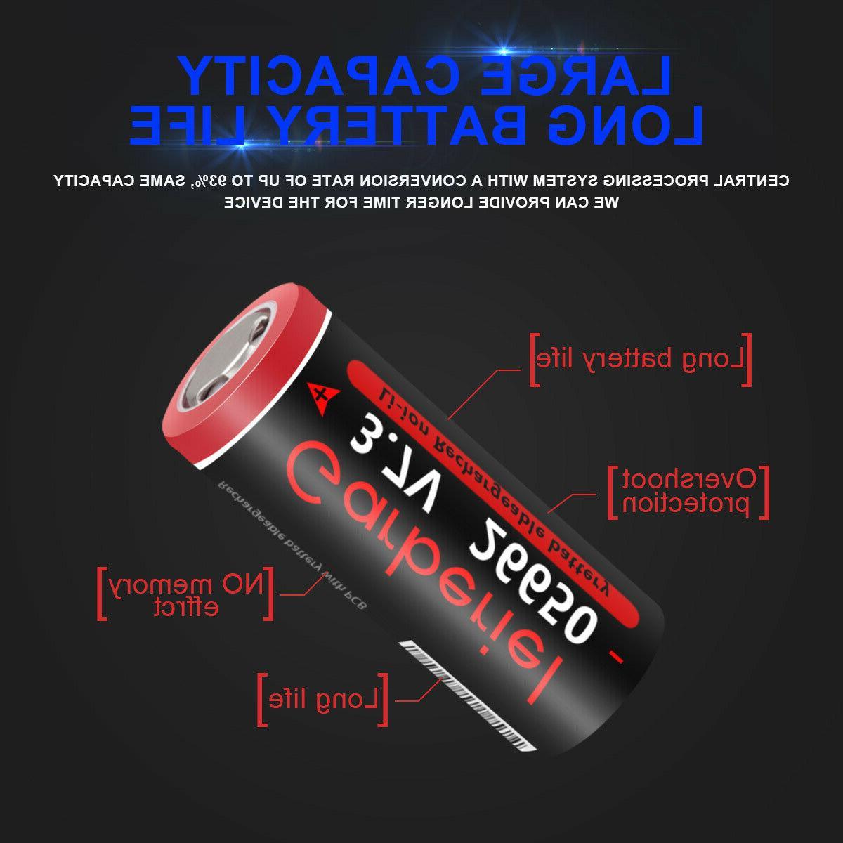 26650 3.7V for Flashlight
