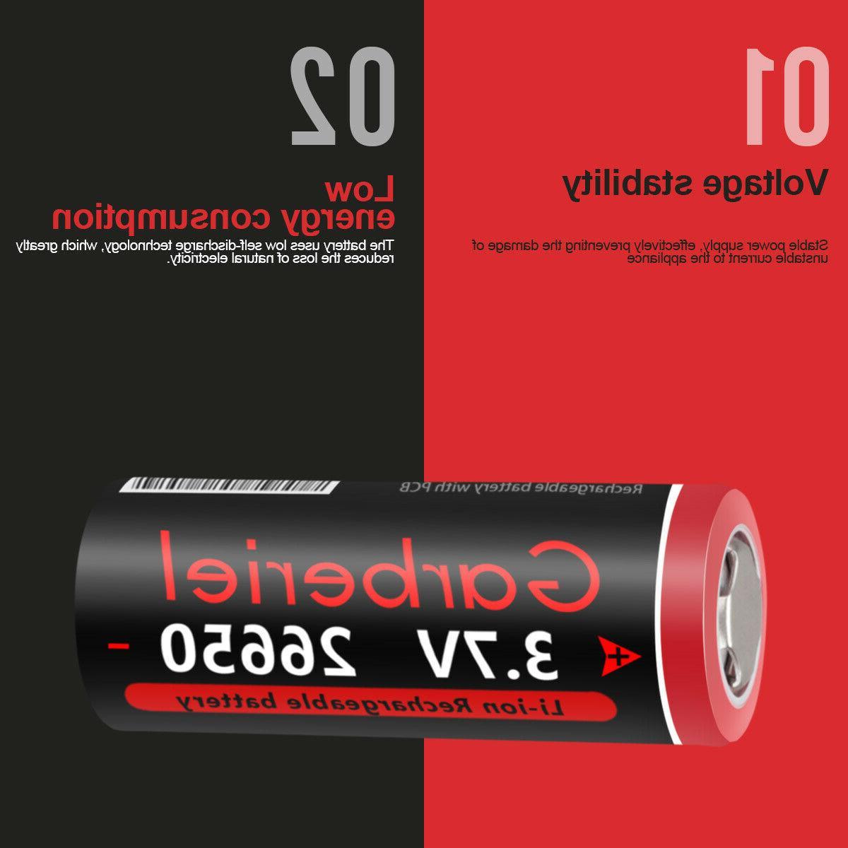 26650 Battery Flashlight Torch Lot