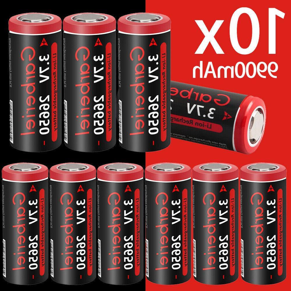 26650 battery 9900mah li ion 3 7v